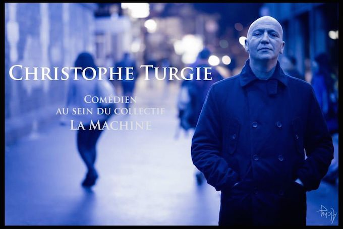 Christophe Turgie, French actor
