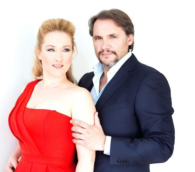 Diana Damrau and Nicolas Testé