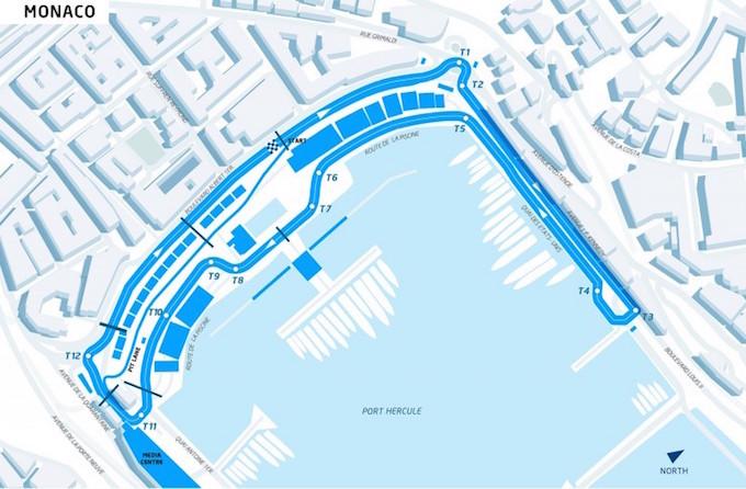 Monaco ePrix circuit 2015