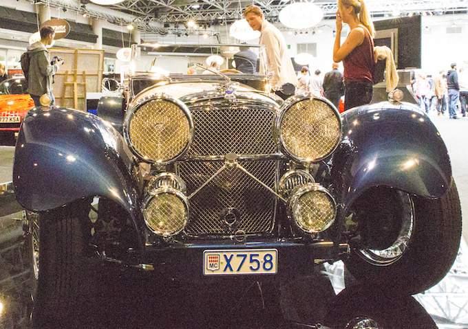 Classic car at Top Marques Monaco 2015 at the Grimaldi Forum