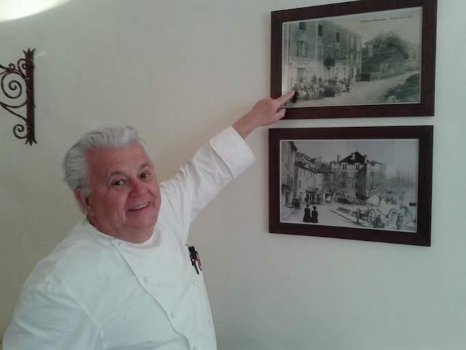 Jany Gleizel in La Bonne Étape