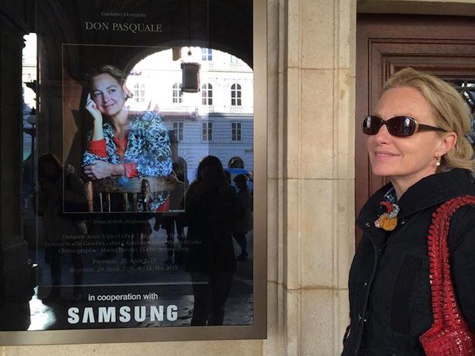 Irina Brook in Vienna