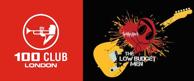 The Low Budget Men play the 100 Club in London this August 2015