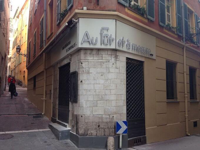 Au fût et à mesure in Nice Old Town