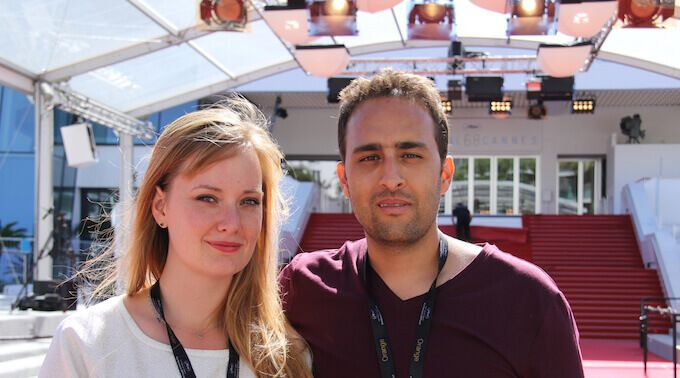 Youcef and July at Cannes