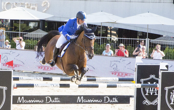International Showjumping action from Port Hercule in Monaco