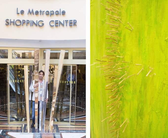 Fabio Pietrantonio's Acupuncture exhibition in Monaco