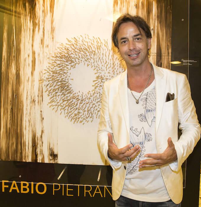 Fabio Pietrantonio at Acupuncture exhibition in Monaco