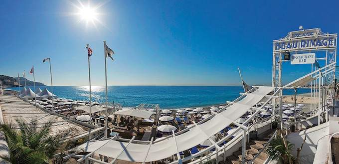Beau Rivage Plage in Nice