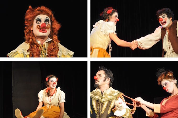 Dom Juan clowns