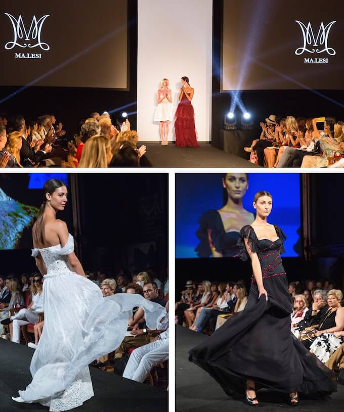 All the action from the Monaco Fashion Show 2015