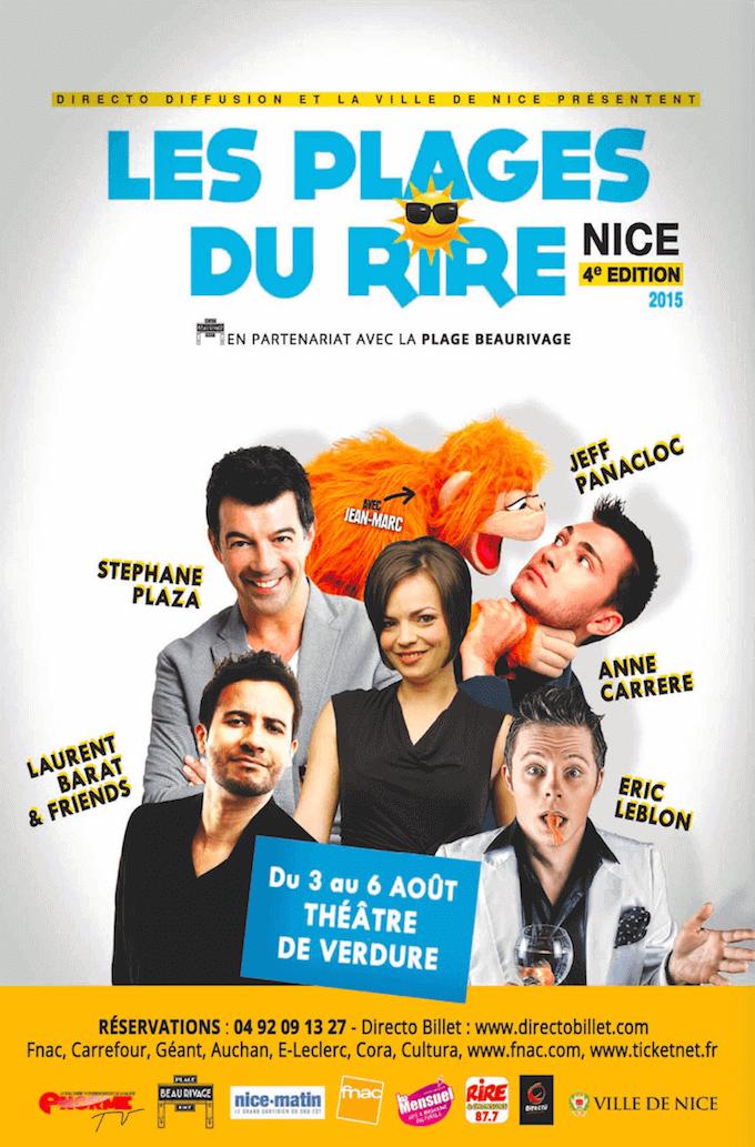 Les Plages du Rire in Nice