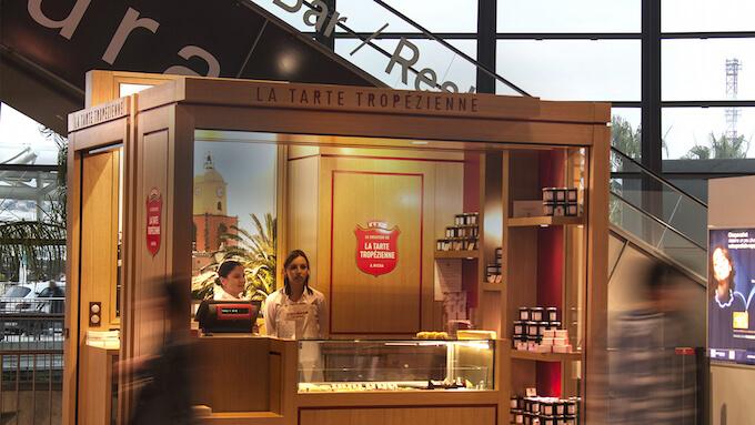 La Tarte Tropézienne at Nice airport