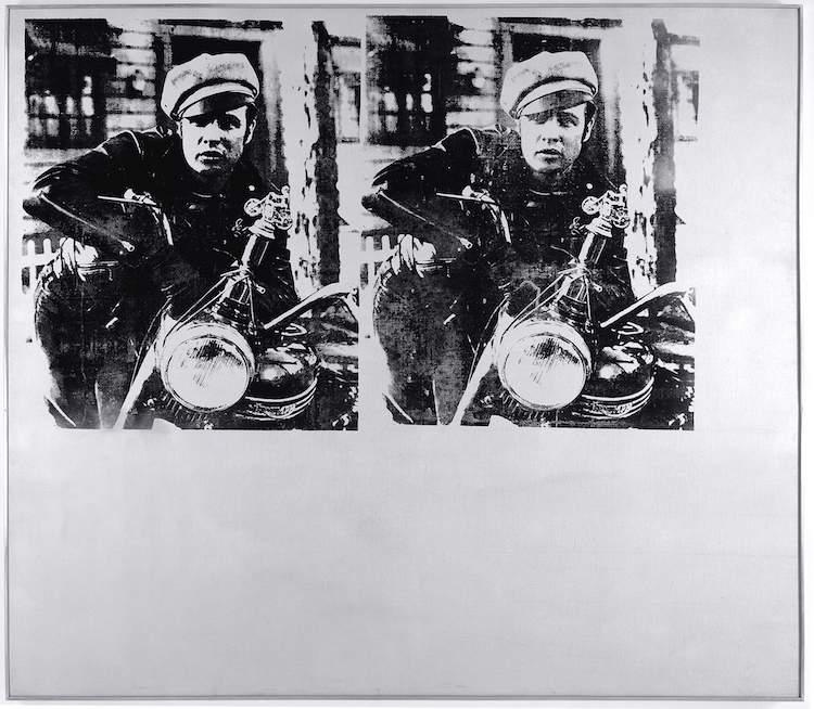 Andy Warhol, Silver Marlon, 1963; © Andy Warhol Foundation