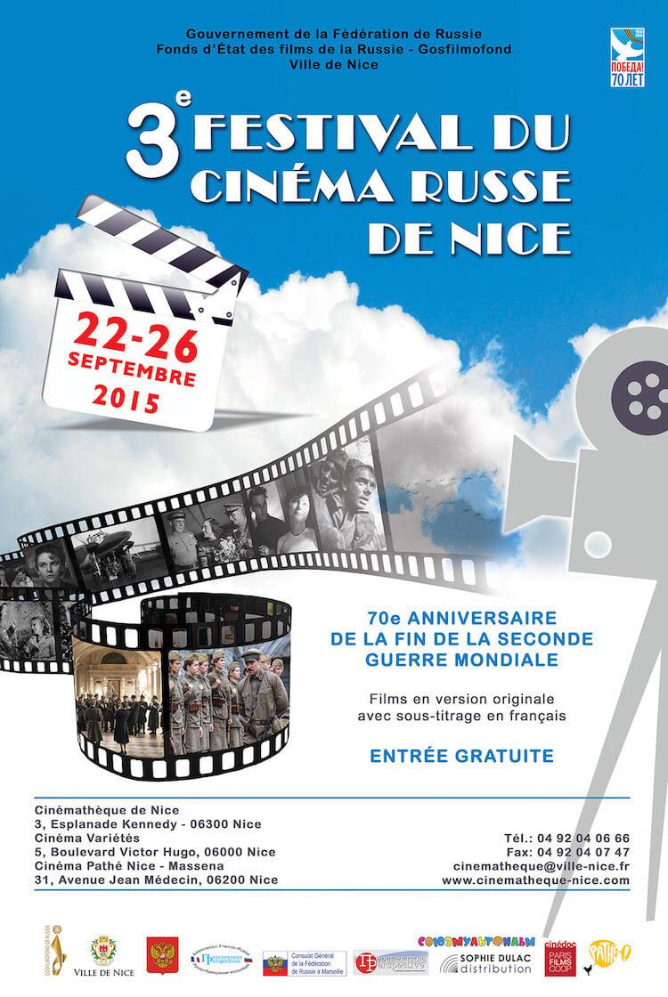 Festival Cinéma Russe de Nice 2015