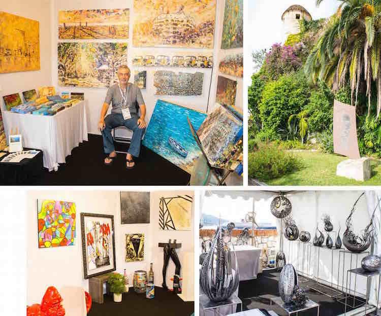The 2015 Art & Antiquities Fair at Villefranche Citadelle