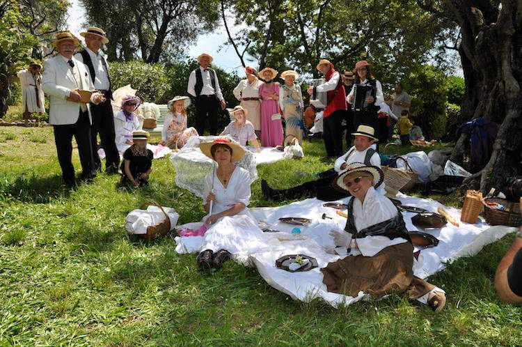 Renoir picnic in Cagnes-sur-Mer