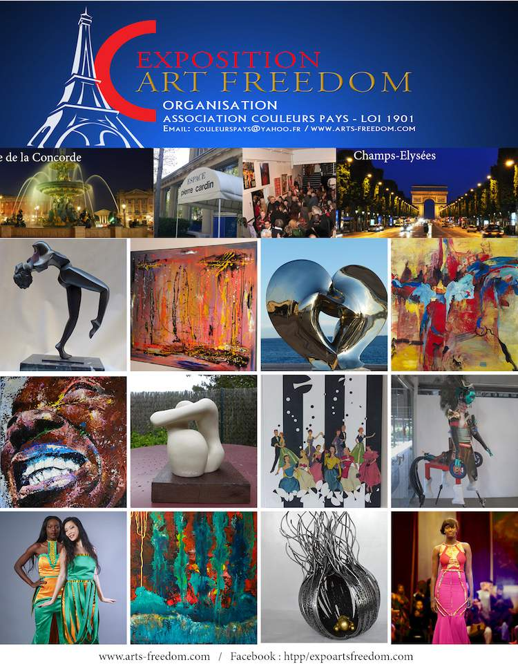 affiche Art Freedom 2015