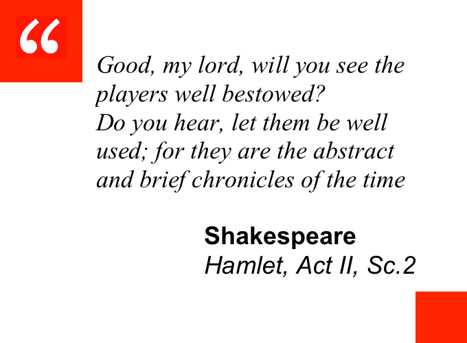 Shakespeare Hamlet quote