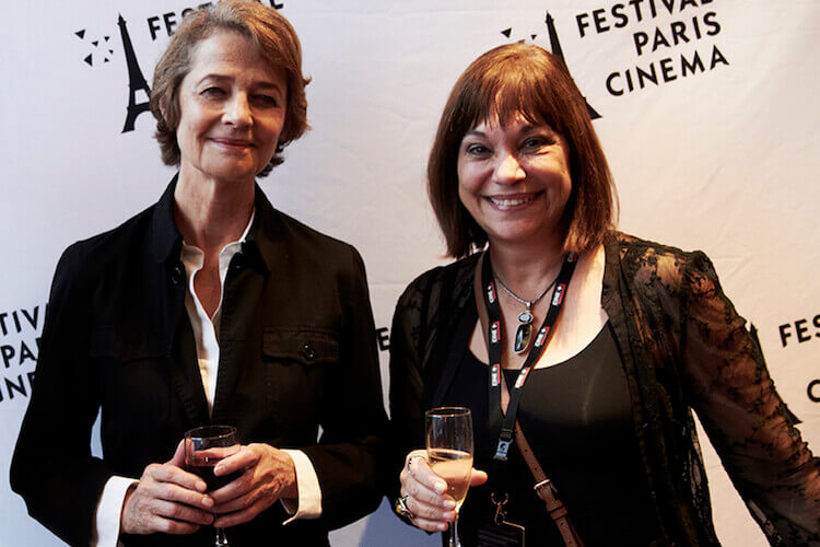 Charlotte Rampling with Nora Armani