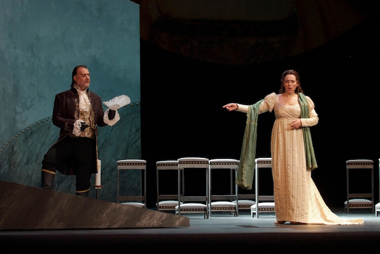 Tosca production © Palau de les Arts Valencia