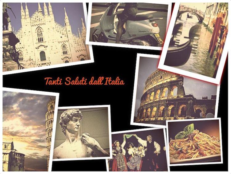 Saluti Italia!
