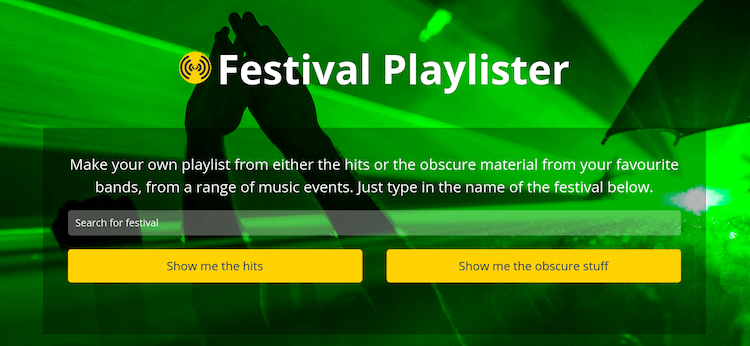 Playlister app