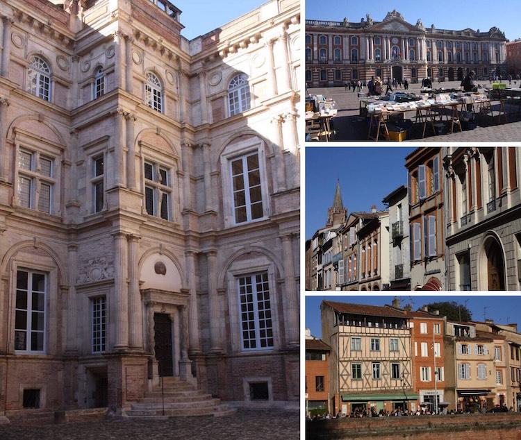 Architecture around Toulouse