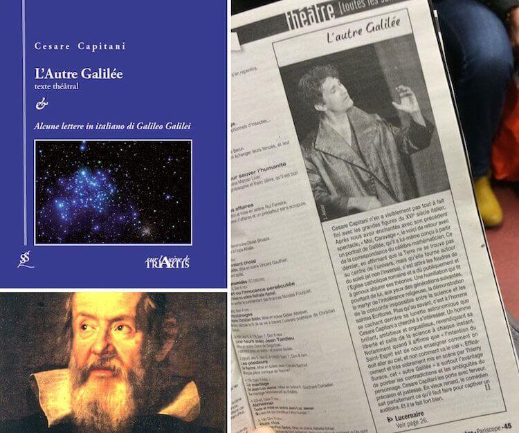 L'Autre Galilée in Paris with Cesare Capitani