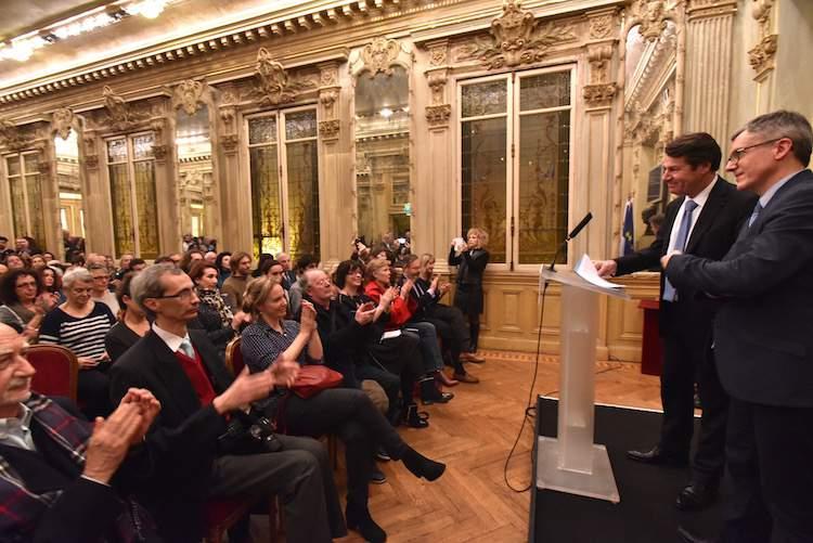 Christian Estrosi press conference