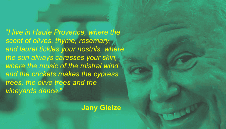 Jany Gleize quote