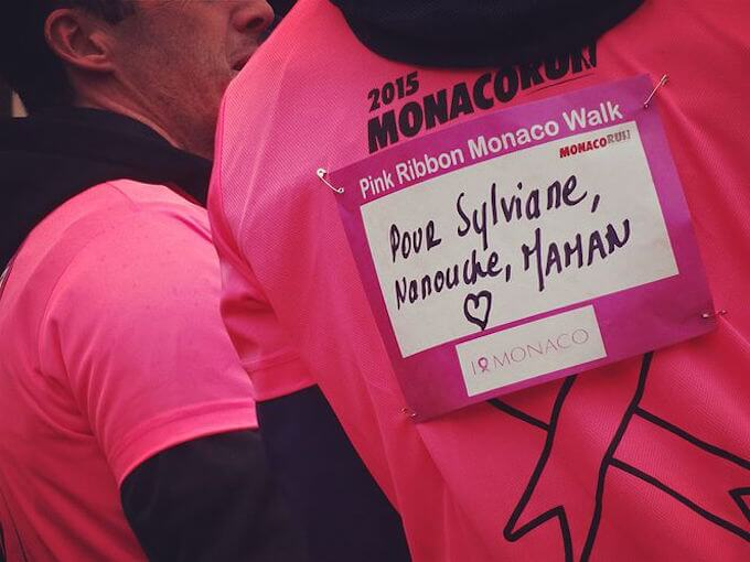 Pink Ribbon Monaco Walk 2015