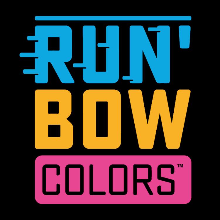 Run'Bow Colors™ logo