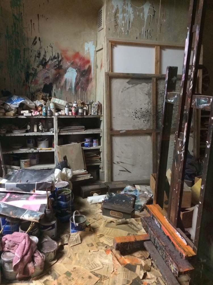 Replica of Francis Bacon studio in Dublin