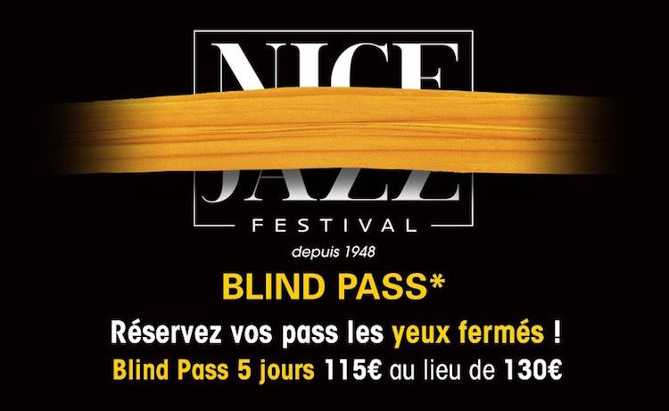 Nice Jazz Festival Blind Pass