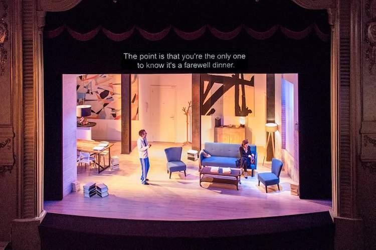 Theatre in Paris surtitles