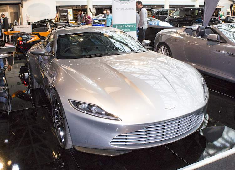 James Bond 007 Aston Martin DB10