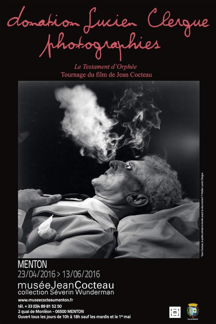 Lucien Clergue exhibition in Musée Jean Cocteau in Menton