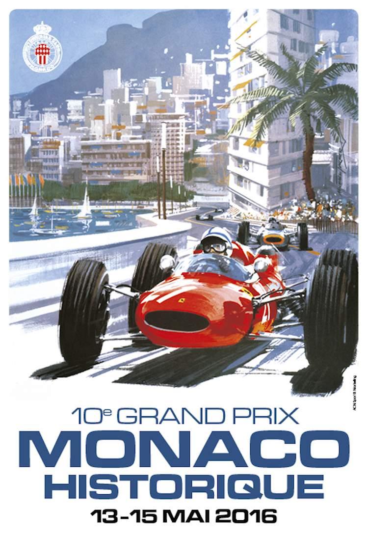 Grand Prix de Monaco Historique 2016 poster