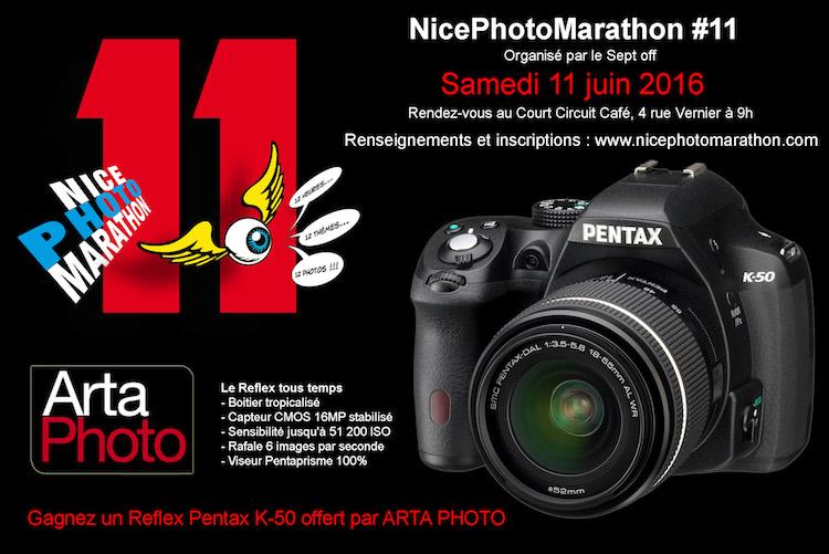 Nice PhotoMarathon 2016 1st prize Pentax K-50