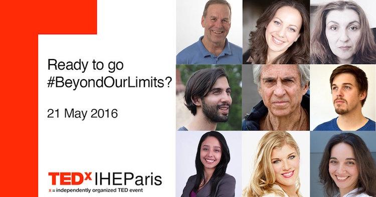 TEDxIHEParis speakers 2016