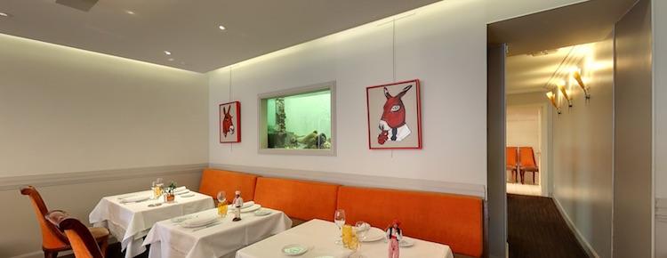 L'Ane Rouge interior i Nice