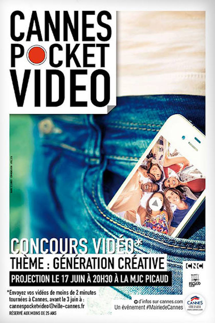 Cannes Pocket Video competition poster
