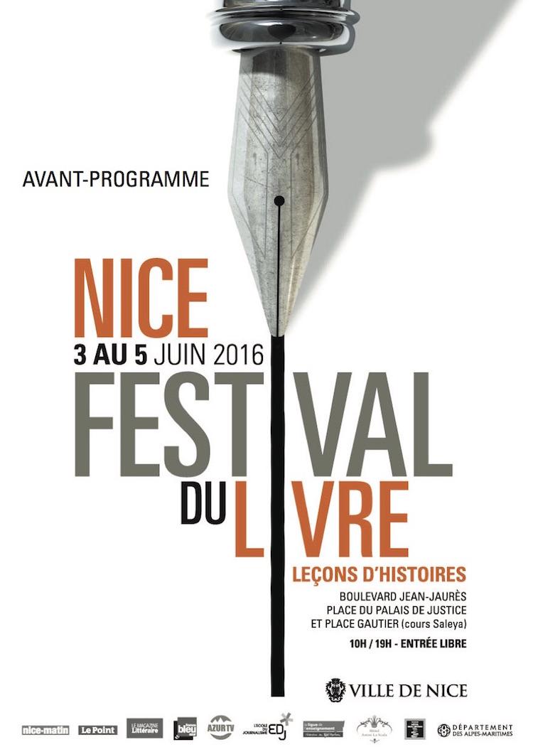 Festival du Livre de Nice 2016 poster