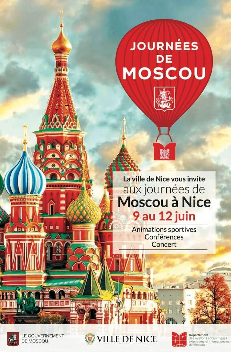 Journées Moscou à Nice 2016 poster