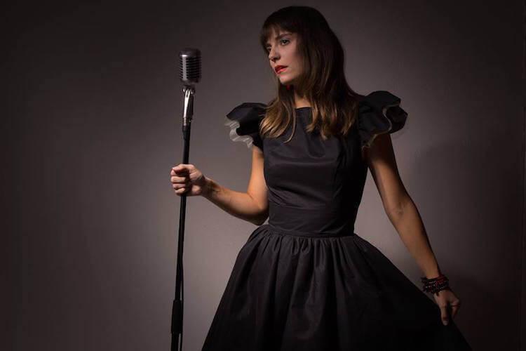 Nina Transfeld Couture robe noir