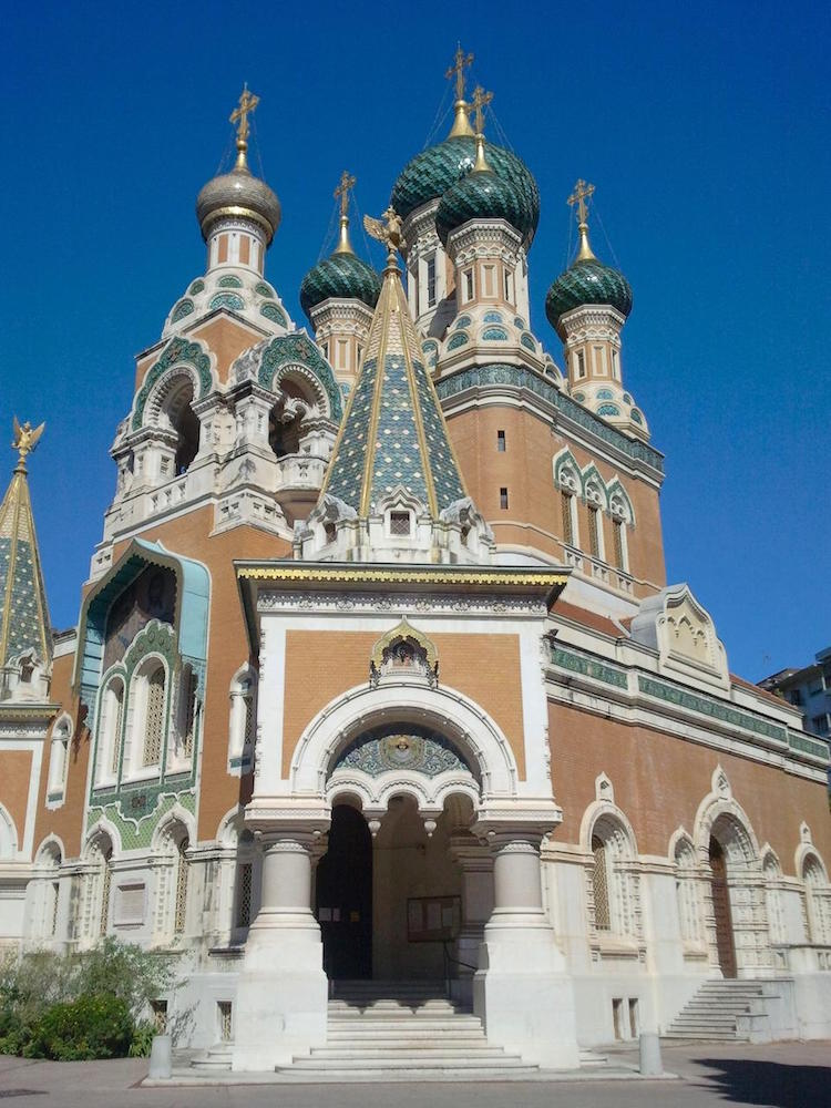 Russia in Nice - St Nicolas Orthodox Cathedral