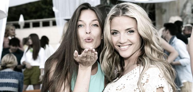 Ladies at Sunset Monaco