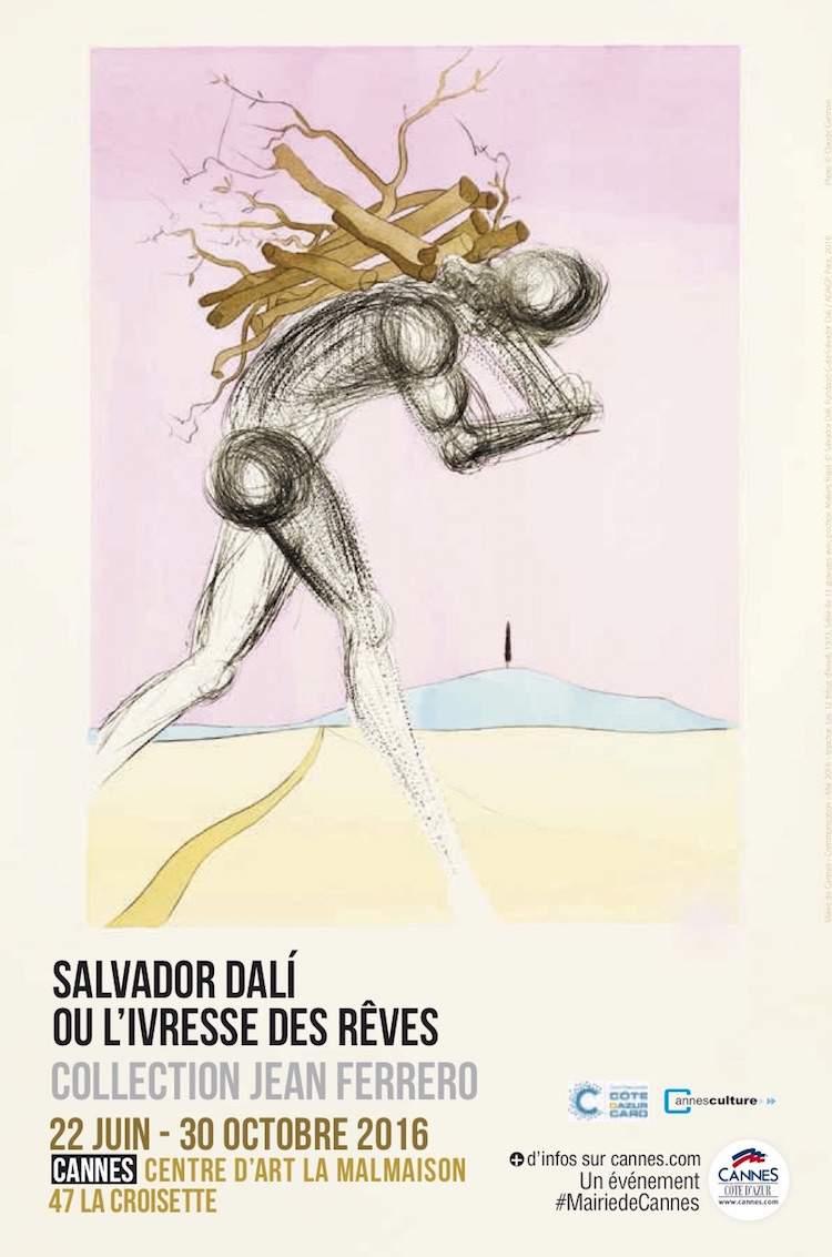 Salvador Dalí exhibition poster