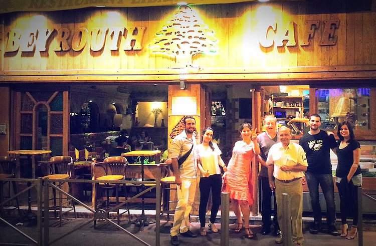 Beyrouth Lebanese Café in Nice